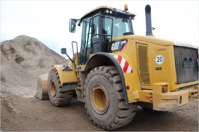Radlader Caterpillar 950
