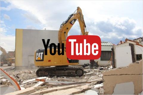 Caterpillar 318 Video