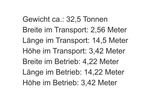 Trackpactor Daten